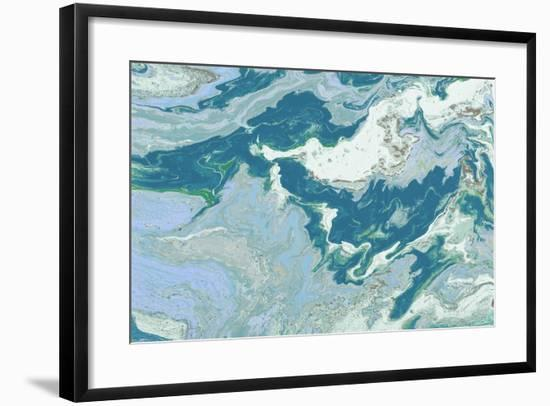 Explore the Space-M Mercado-Framed Art Print