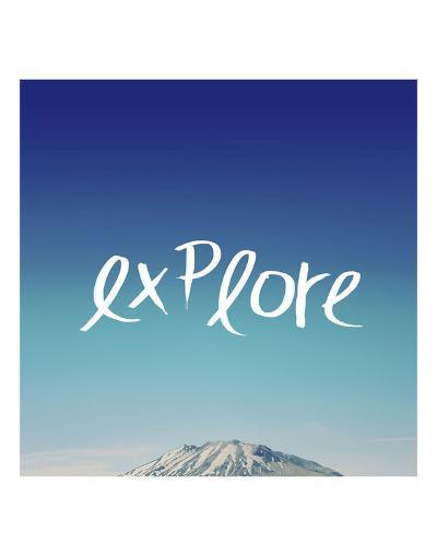 Explore-Leah Flores-Art Print