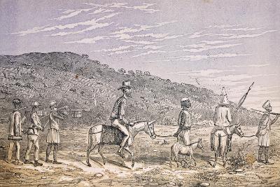 Explorers in East Africa--Giclee Print