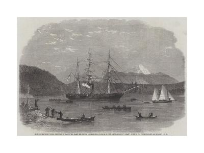 Exploring Expedition Along the Coasts of Vancouver's Island and British Columbia--Giclee Print