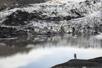 Exploring Solheimajokull Glacier, South Iceland (Sudurland), Iceland, Polar Regions-Matthew Williams-Ellis-Photographic Print