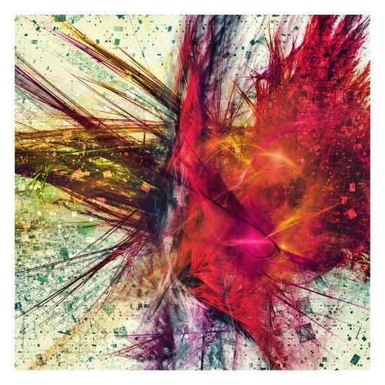Explosive colors-Jean-Fran?ois Dupuis-Art Print
