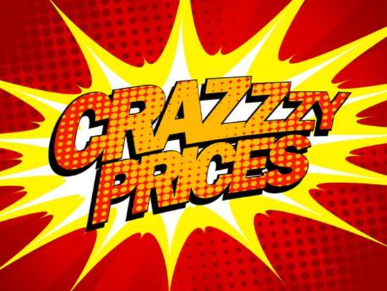 Explosive Crazy Prices Design in Pop-Art Style' Art Print ...
