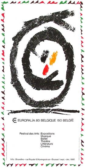 Expo 080 - Europalia II-Pierre Alechinsky-Collectable Print