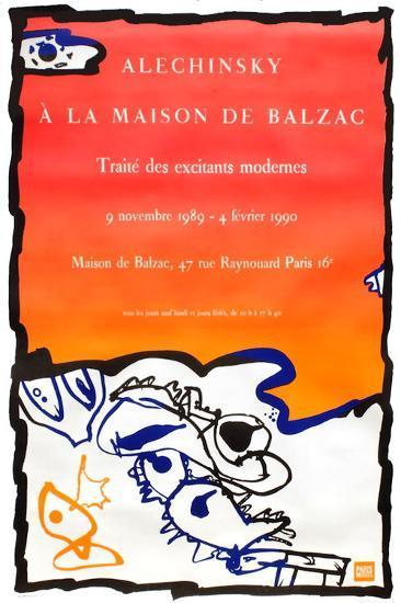 Expo 125 - Maison de Balzac-Pierre Alechinsky-Premium Edition