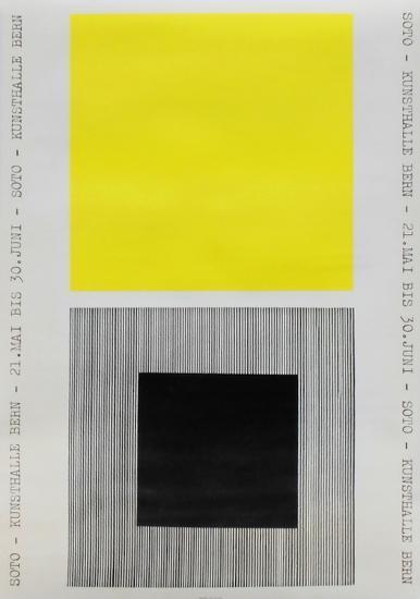 Expo 1968 - Kunsthalle Bern-Rafael Jesus Soto-Premium Edition