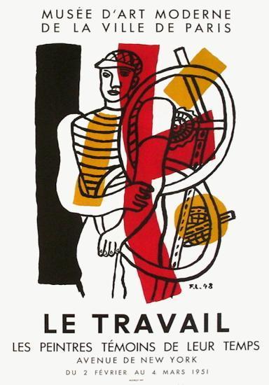 Expo 51 - Les Peintres Témoins de leur Temps-Fernand Leger-Premium Edition
