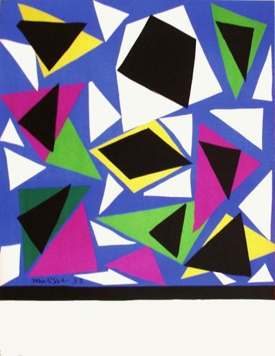 Expo 52 - Galerie Kléber (avant la lettre)-Henri Matisse-Premium Edition