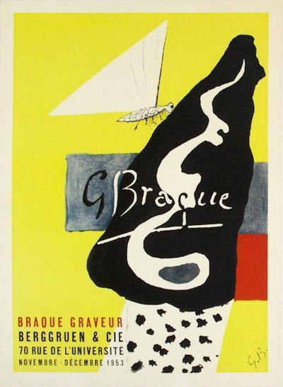 Expo 53 - Berggruen-Georges Braque-Premium Edition