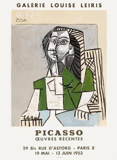 Expo 53 - Galerie Louise Leiris-Pablo Picasso-Premium Edition
