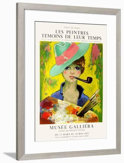 Expo 55 - Musée Galliéra-Kees van Dongen-Framed Premium Edition