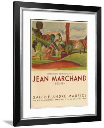 Expo 56 - Galerie André Maurice-Jean Marchand-Framed Collectable Print