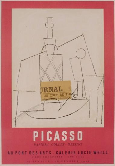 Expo 56 - Galerie Lucie Weill-Pablo Picasso-Premium Edition