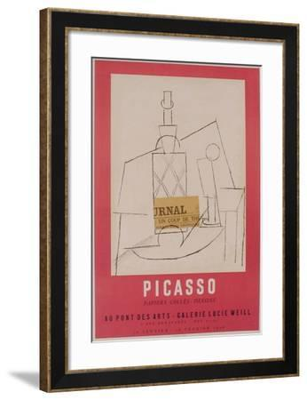 Expo 56 - Galerie Lucie Weill-Pablo Picasso-Framed Premium Edition
