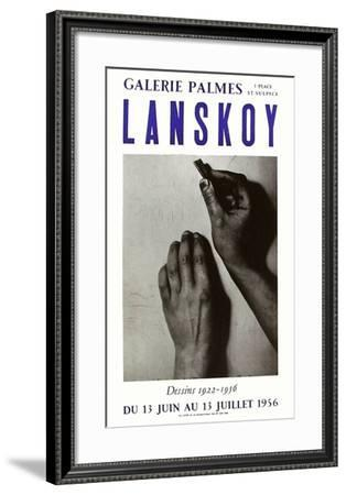 Expo 56 - Galerie Palmes-André Lanskoy-Framed Collectable Print