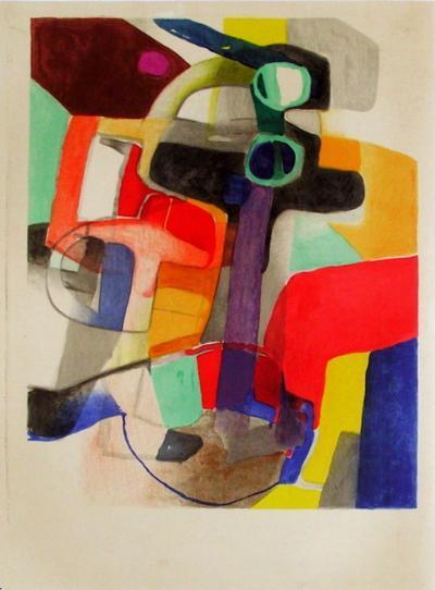 Expo 57 Galerie Benador (avant la lettre)-Maurice Esteve-Premium Edition