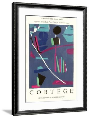 Expo 59 - Chez Pierre Bérès Cortège-André Lanskoy-Framed Collectable Print