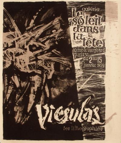 Expo 59 - Galerie Le Soleil dans la T?te-Romas Viesulas-Collectable Print