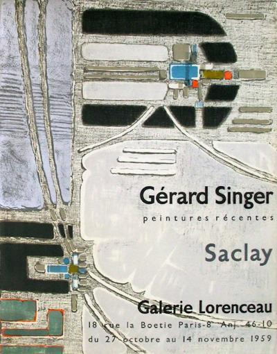 Expo 59 - Galerie Lorenceau-G?rard Singer-Collectable Print