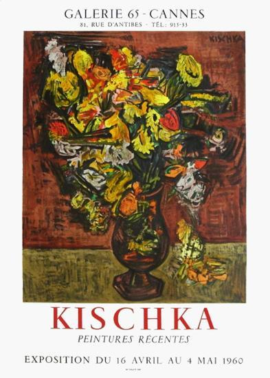 Expo 60- Galerie 65 Cannes-Isis Kischka-Collectable Print