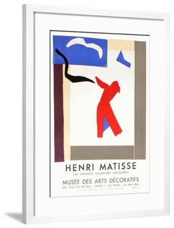 Expo 61 - Musée des Arts Décoratifs-Henri Matisse-Framed Premium Edition