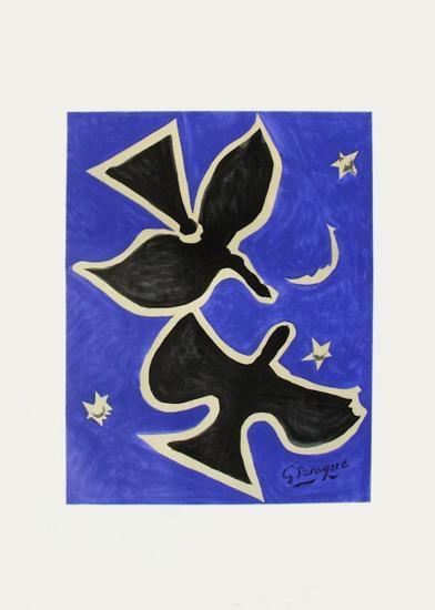 Expo 61 - Musée Galliéra (avant la lettre)-Georges Braque-Collectable Print