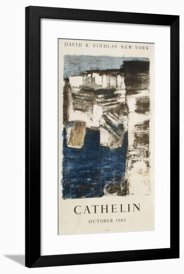 Expo 62 - David Findlay-Bernard Cathelin-Framed Collectable Print
