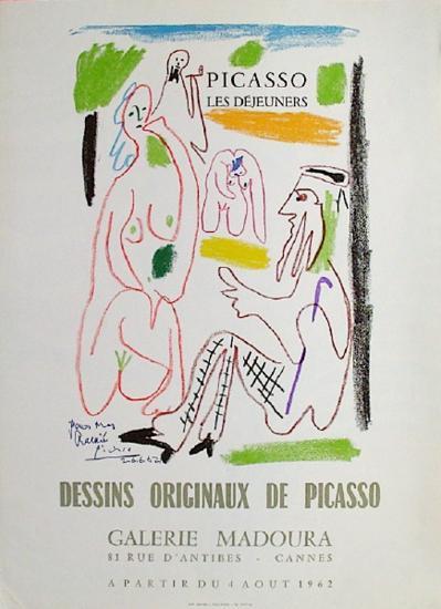 Expo 62 - Galerie Madoura-Pablo Picasso-Premium Edition