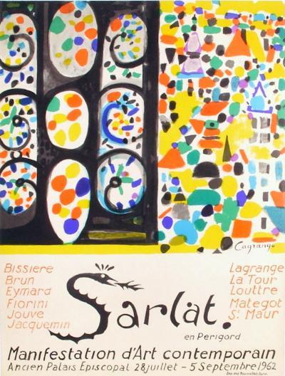 Expo 62 - Sarlat Manifestation d'Art Contemporain-Jacques Lagrange-Collectable Print
