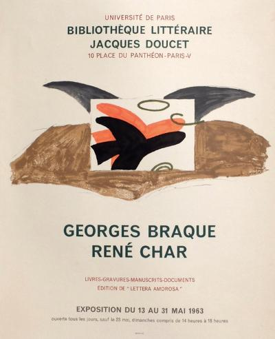 Expo 63 - Biblioth?que Jacques Doucet-Georges Braque-Collectable Print