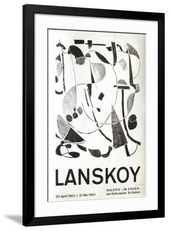 Expo 63 - Galerie Im Erker-André Lanskoy-Framed Premium Edition