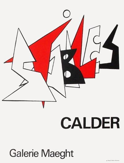 Expo 63 - Galerie Maeght-Alexander Calder-Collectable Print