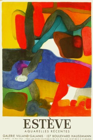 Expo 63 Galerie Villand Galanis-Maurice Esteve-Premium Edition