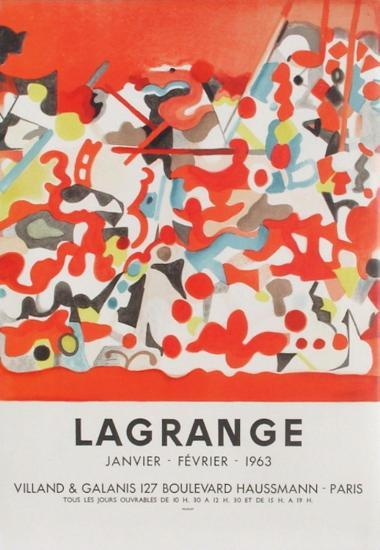 Expo 63 - Galerie Villand Galanis-Jacques Lagrange-Collectable Print