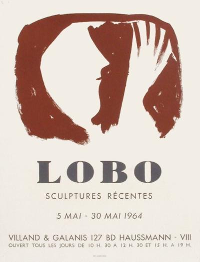 Expo 64 - Galerie Villand & Galanis-Baltasar Lobo-Collectable Print