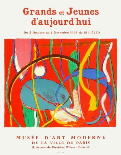 Expo 64 - Musée d'Art Moderne Paris-Andr? Lanskoy-Collectable Print