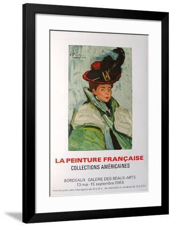 Expo 66 - Galerie des Beaux-Arts Bordeaux-Pablo Picasso-Framed Premium Edition