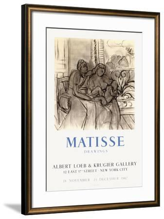 Expo 67 - Albert Loeb & Krugier Gallery-Henri Matisse-Framed Premium Edition