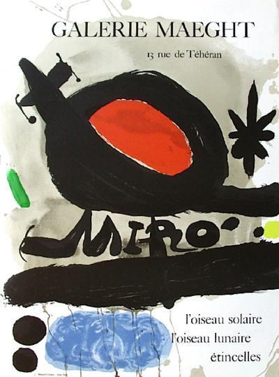 Expo 67 - L'Oiseau Solaire-Joan Mir?-Collectable Print