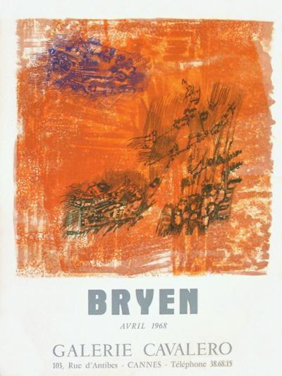Expo 68 - Galerie Cavalero-Camille Bryen-Collectable Print