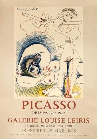 Expo 68 - Galerie Louise Leiris-Pablo Picasso-Premium Edition