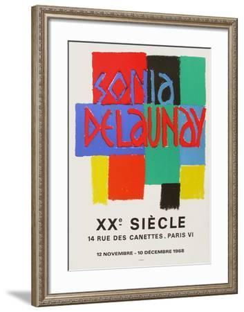 Expo 68 - XXème Siècle-Sonia Delaunay-Terk-Framed Premium Edition