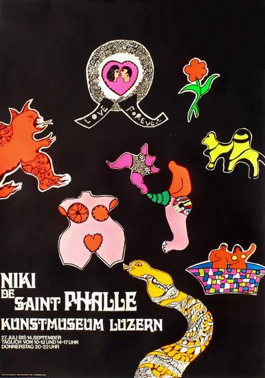 Expo 69 - Kunstmuseum Luzern-Niki De Saint Phalle-Premium Edition