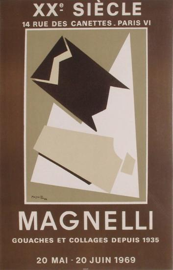 Expo 69 - XX?me Si?cle-Alberto Magnelli-Collectable Print