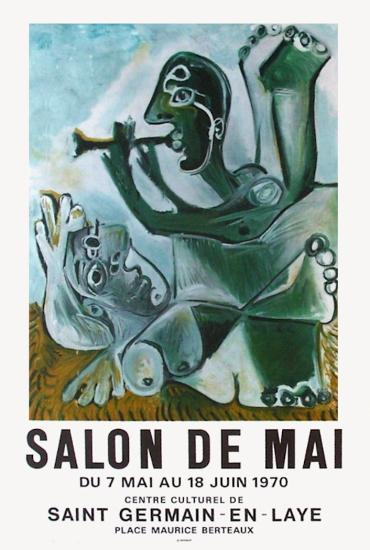 Expo 70 - Salon de Mai-Pablo Picasso-Premium Edition