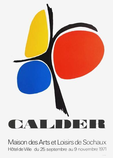 Expo 71 - Sochaux-Alexander Calder-Collectable Print