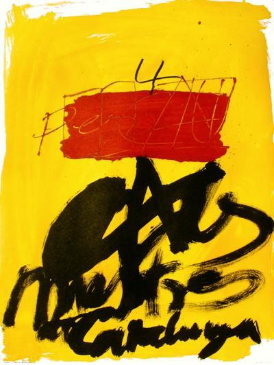 Expo 72 - Al mestres de Catalunya-Antoni Tapies-Premium Edition