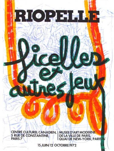 Expo 72 - Centre Culturel Canadien-Jean-Paul Riopelle-Collectable Print