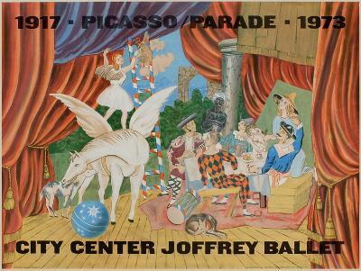 Expo 73 - City Center Joffrey Ballet-Pablo Picasso-Premium Edition