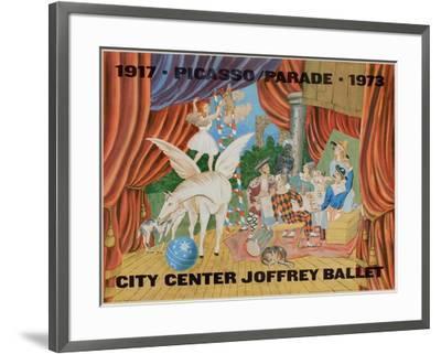 Expo 73 - City Center Joffrey Ballet-Pablo Picasso-Framed Premium Edition